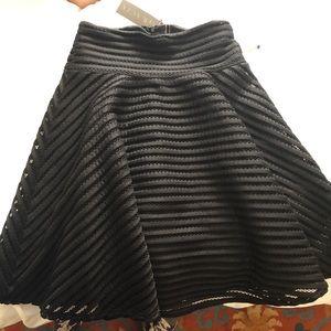 Gracia Black Skirt NWT size small